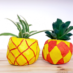 Pots ananas drôlement DIY ^^
