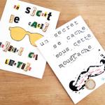 La carte «secret à gratter» pour la fête des papas !
