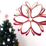Les décorations de Noël en rouleaux de papier carton 🎄