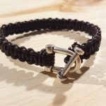 Cadeau express pour la Saint Valentin : le bracelet homme en cuir tressé en macramé