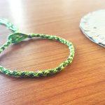 Le bracelet Kumihimo