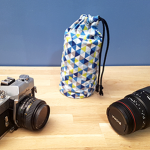 Couture du mois : La housse pour objectif photo 📷