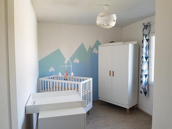 Chambre bébé : Peinture et décoration sur le thème des ...