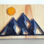Le string art, une méthode simple pour créer un joli tableau DIY personnalisé