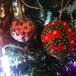 Les boules de Noël DIY