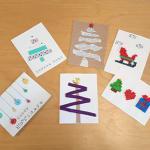 Les cartes de vœux DIY :  5 idées testées pour vous :)