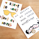 """La carte """"secret à gratter"""" pour la fête des papas !"""