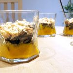 La recette de l'automne : Crumble de potiron aux champignons et lardons