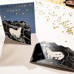 Linogravure : Imprimez vos cartes de vœux avec un tampon Fait Maison
