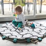Cadeau naissance : tapis de jeu nomade